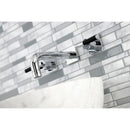 Load image into Gallery viewer, Kaiser Easy Clean Two Handle Wall Mount Bathroom Faucet