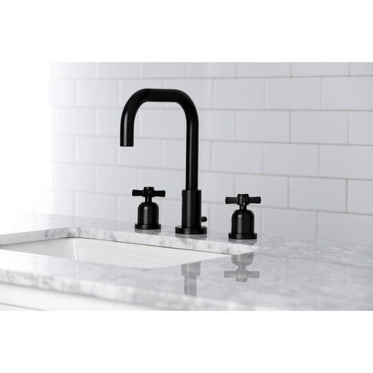 Millennium Widespread Bathroom Faucet With Dual Cross Handle