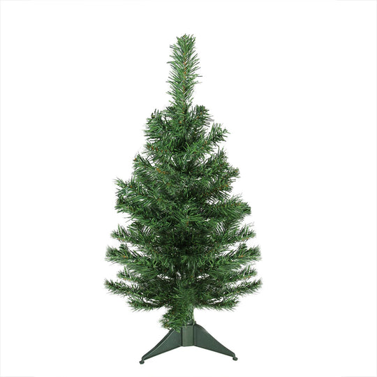 "2' x 12"" Mixed Green Pine Medium Artificial Christmas Tree - Unlit"