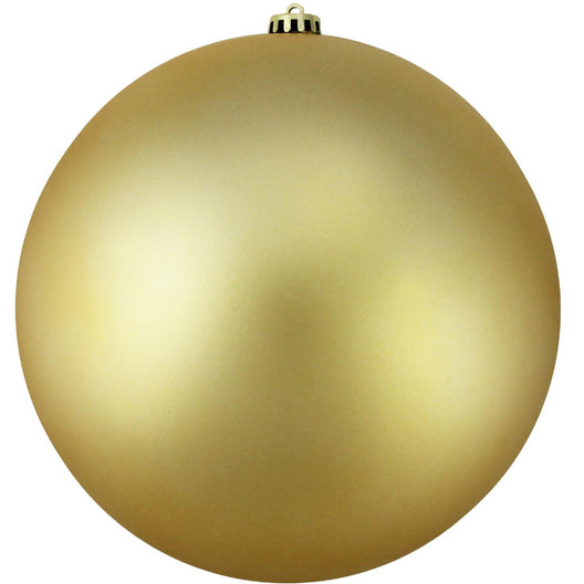 Vegas Gold Shatterproof Matte Christmas Ball Ornament 6