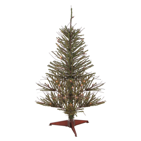 3' Warsaw Twig Artificial Christmas Tree - Clear Lights