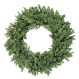 Pre-Lit LED Oregon Noble Fir Artificial Christmas Wreath - 30-Inch  Warm White Lights