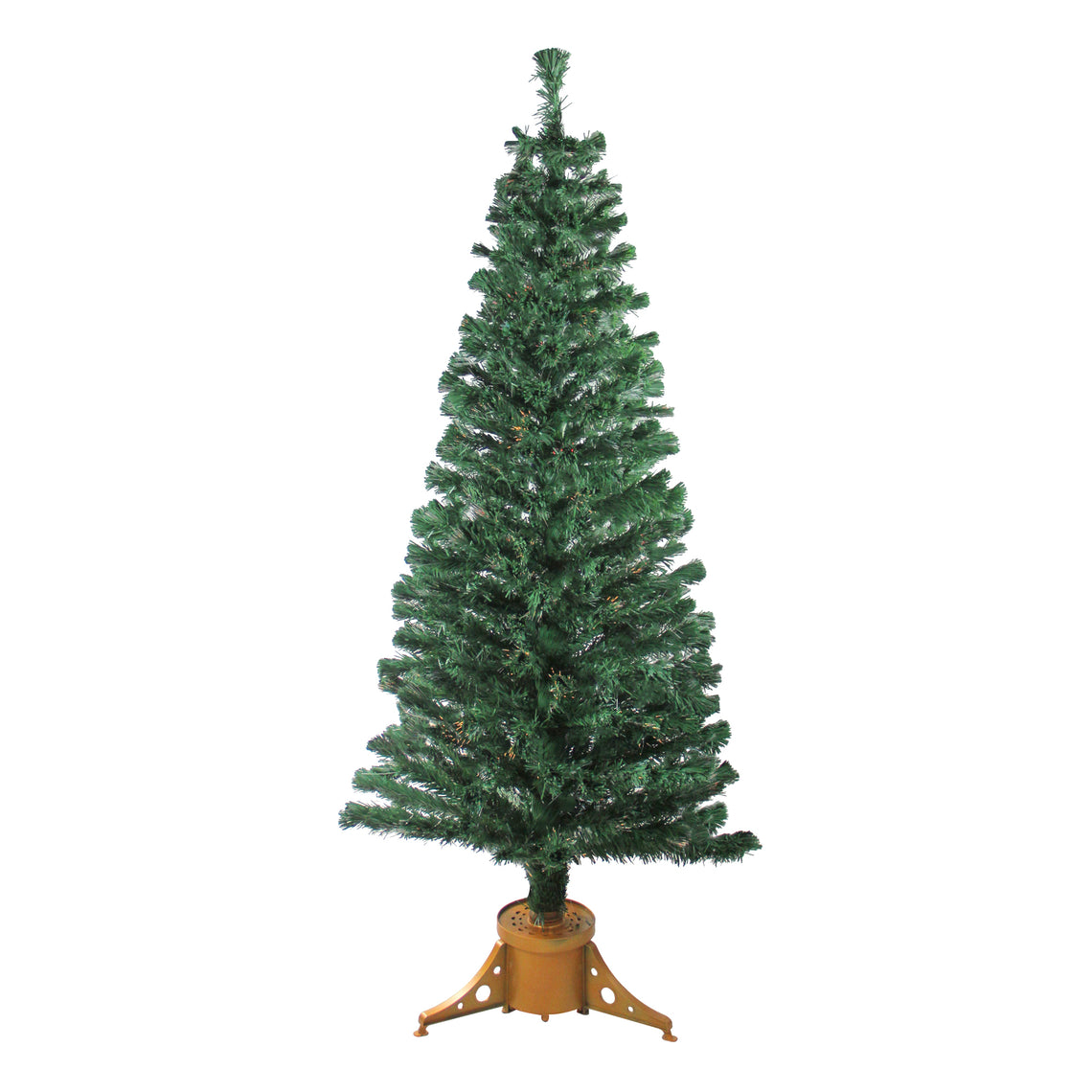 6' Pre-Lit Color Changing Fiber Optic Artificial Christmas Tree