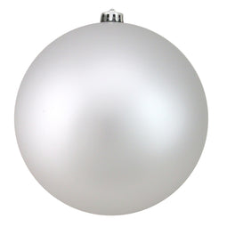Silver Splendor Shatterproof Matte Christmas Ball Ornament 8