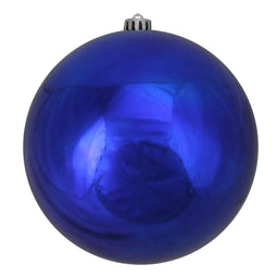 Royal Blue Shatterproof Shiny Christmas Ball Ornament 8