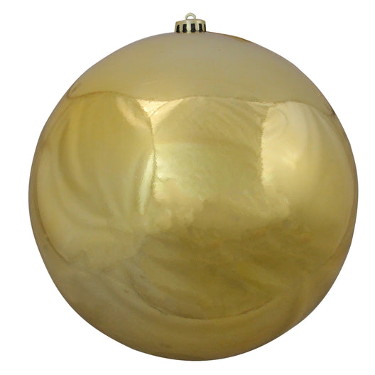 Vegas Gold Shatterproof Shiny Christmas Ball Ornament 10