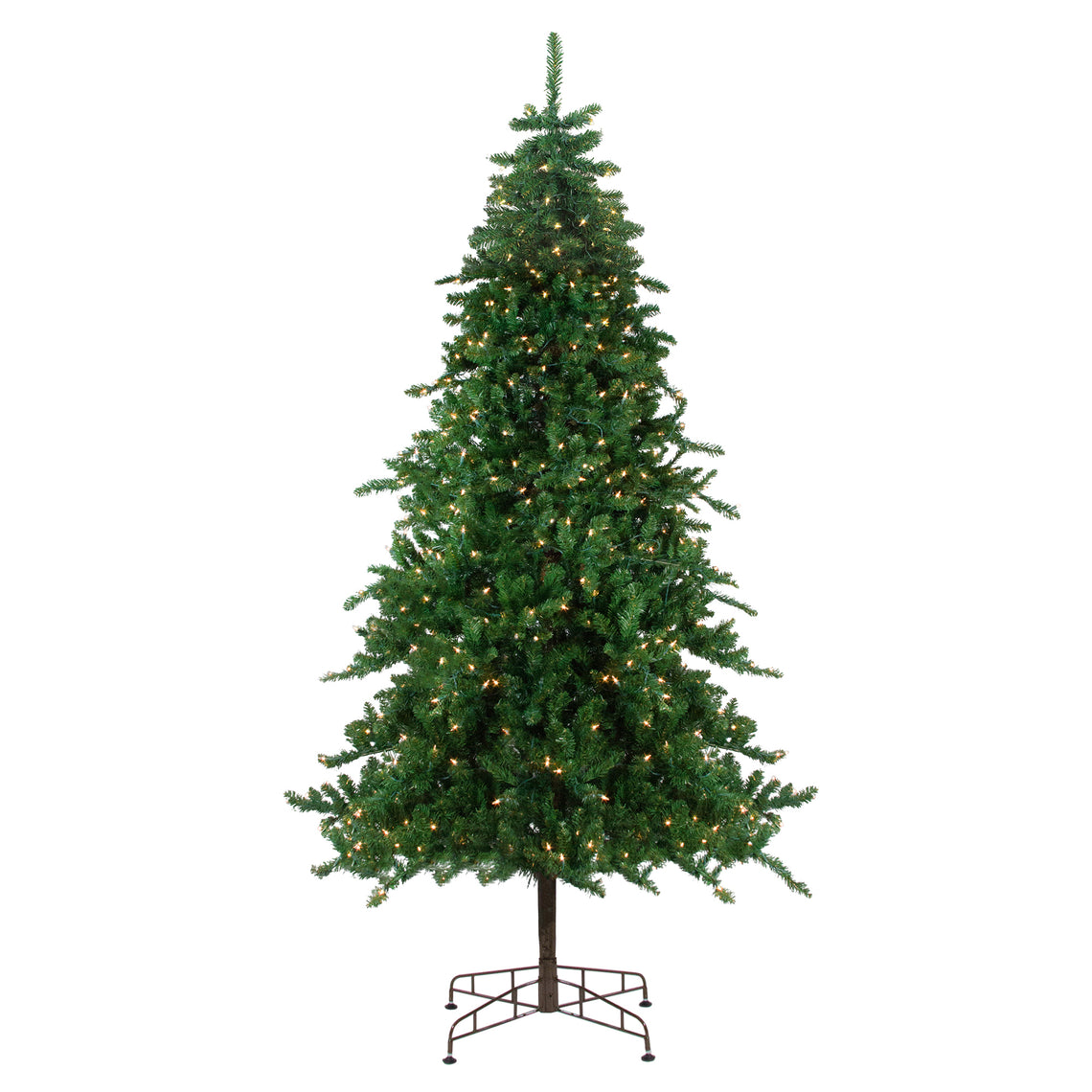 9' Pre-Lit Eden Spruce Artificial Christmas Tree - Clear Lights