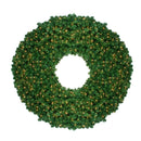 Load image into Gallery viewer, Pre-Lit Olympia Pine Artificial Christmas Wreath - 60 Inch  Clear Lights
