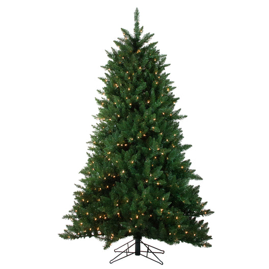 9' Pre-Lit Montana Pine Artificial Christmas Tree - Clear Lights