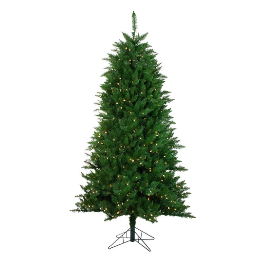 6.5' Pre-Lit Instant Connect LED Neola Fraser Fir Artificial Christmas Tree - Dual Lights