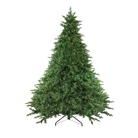 12' Pre-Lit LED Instant Connect Minnesota Balsam Fir Artificial Christmas Tree