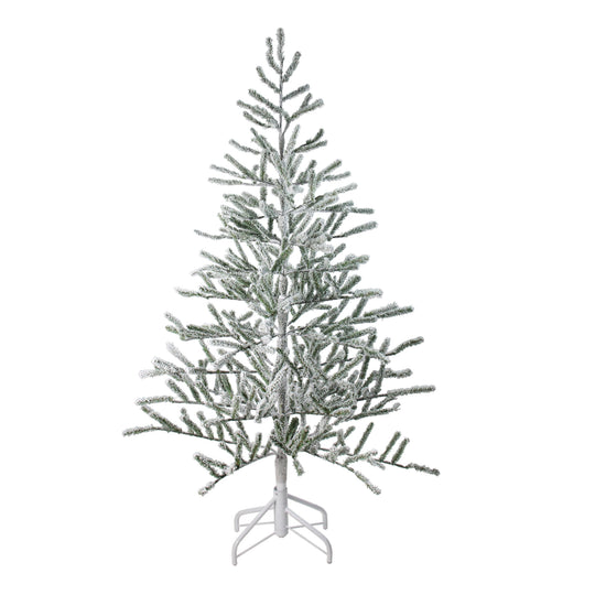 5' Flocked Alpine Twig Artificial Christmas Tree - Unlit