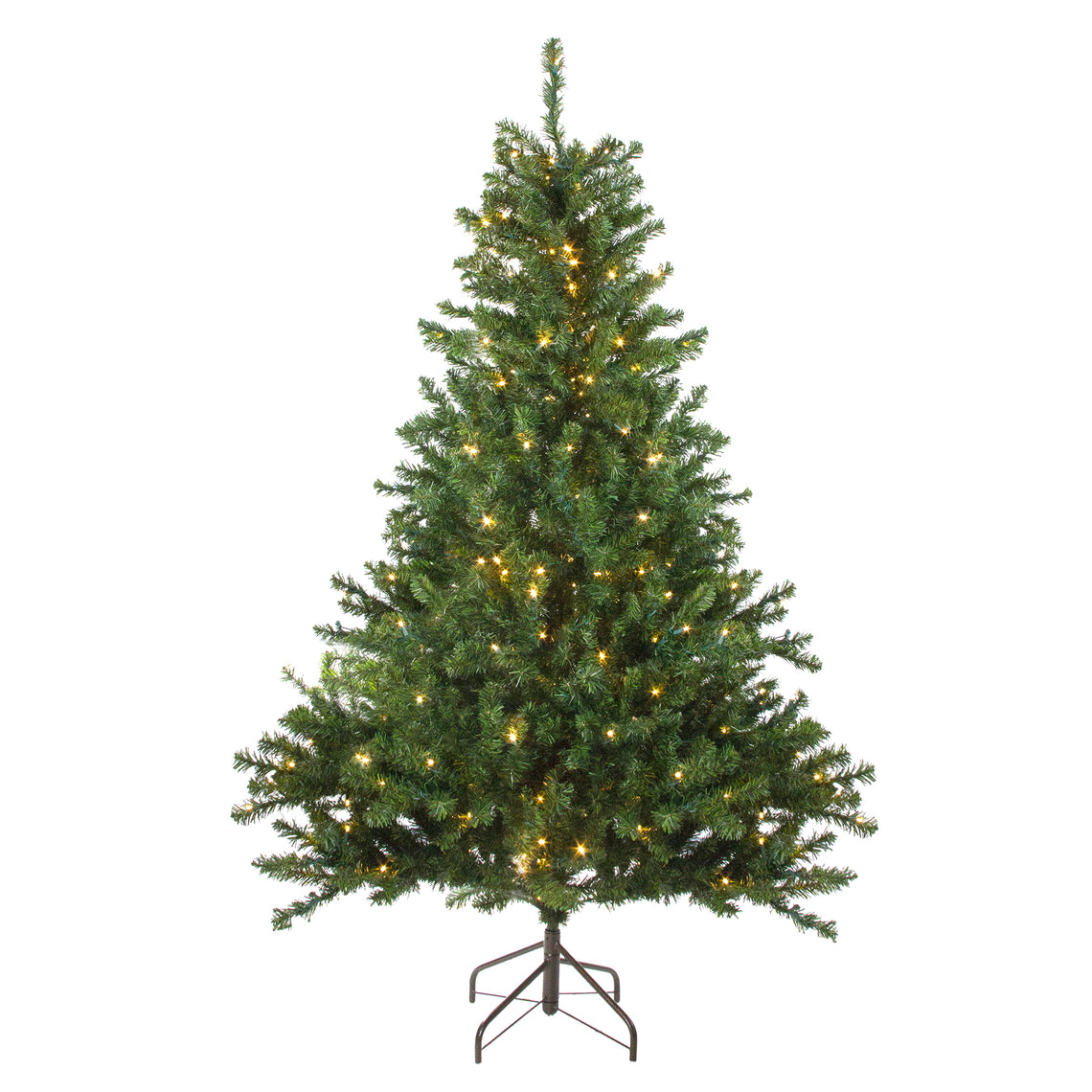 5' Pre-Lit Canadian Pine Artificial Christmas Tree - Candlelight LED Lights