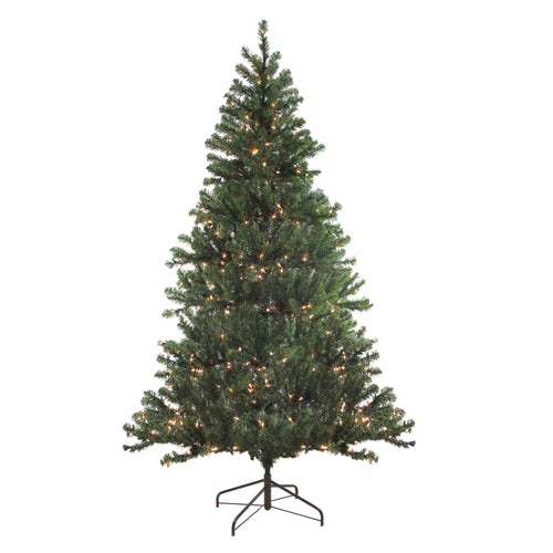 6' Pre-Lit Balsam Pine Artificial Christmas Tree - Clear Lights