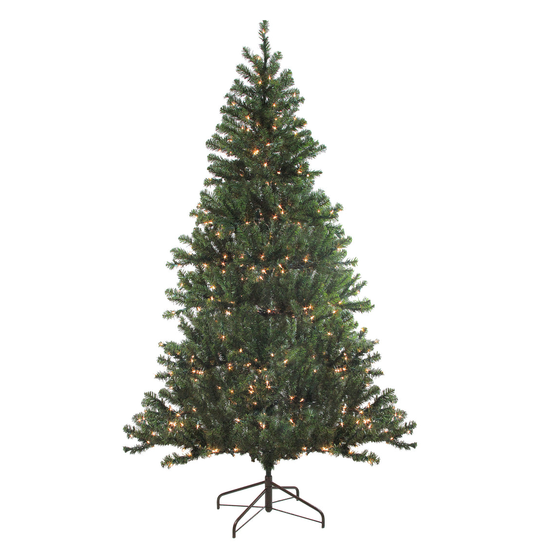 7' Pre-Lit Balsam Pine Artificial Christmas Tree - Clear Lights