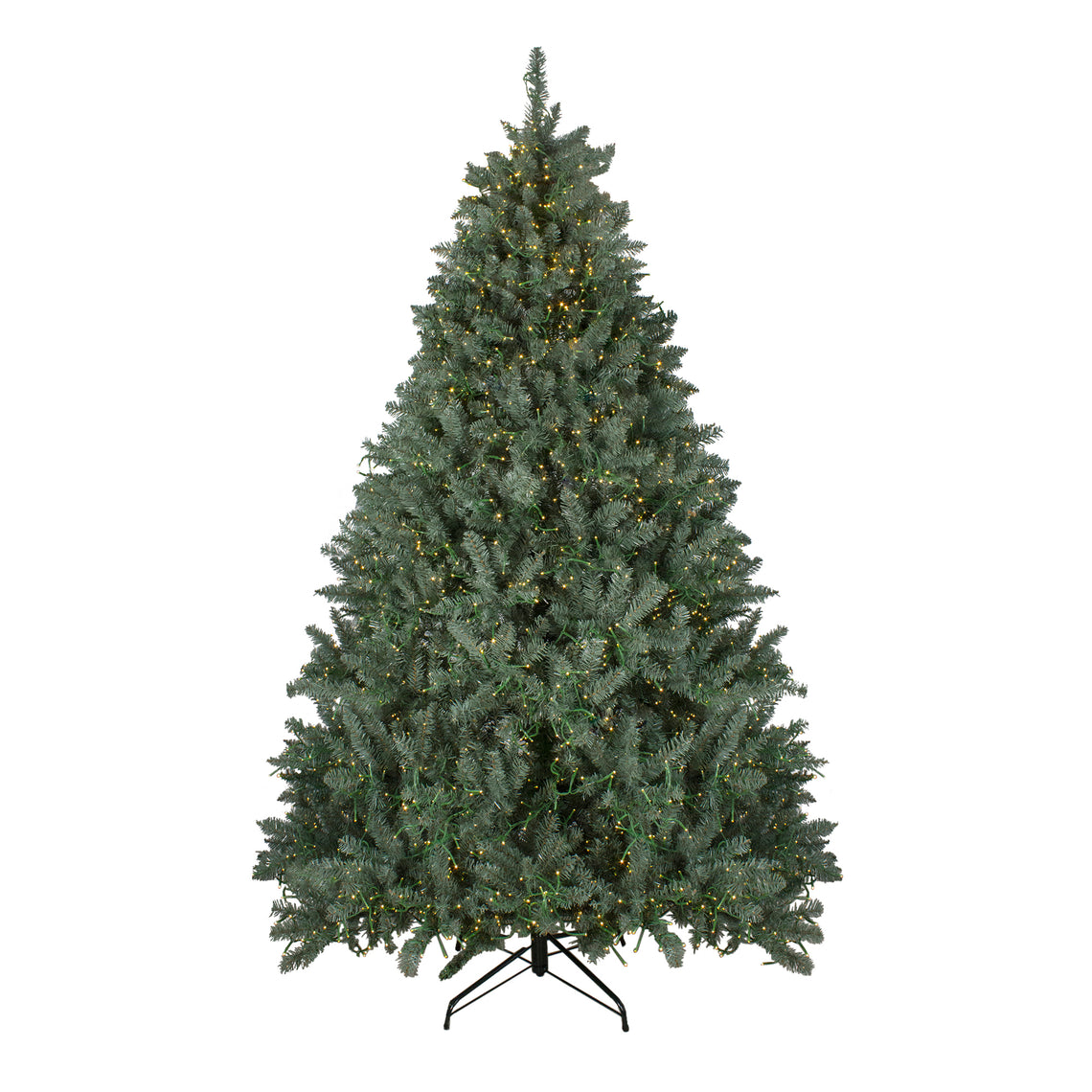 7.5' Pre-Lit Grande Spruce Artificial Christmas Tree - Dual Color LED Lights