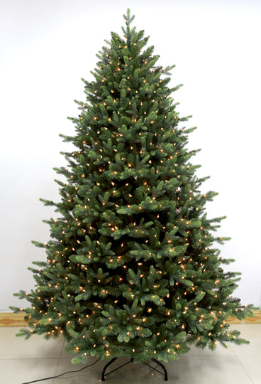 7.5' Pre-Lit Pike River Fir Artificial Christmas Tree - Dual Color LED Lights