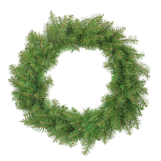Northern Pine Artificial Christmas Wreath - 24-Inch  Unlit,