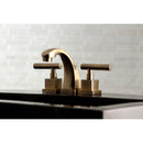 "Load image into Gallery viewer, Claremont 8 "" Widespread Bathroom Faucet, Antique Brass"