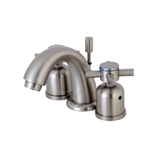 Concord Widespread Bathroom Faucet With Cross Lever Handle