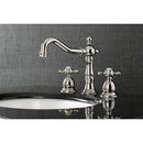 Load image into Gallery viewer, 8 inch Heritage Traditional Widespread Bathroom Faucet