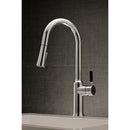 Load image into Gallery viewer, Single-Handle Pull-Down Kitchen Faucet