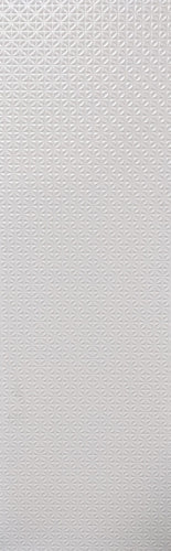 Scanda 16 X 47 Inch 3D Matte White Body Wall Tile