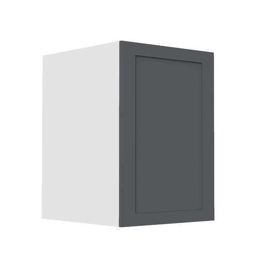 "9"" Single Door Base Cabinet, Grey Shaker"