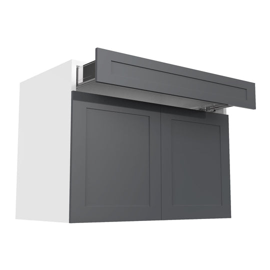 "42"" Grey Shaker  Base Kitchen Cabinet (2 Door, 1 Drawer)"