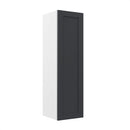 "Load image into Gallery viewer, 12"" X 42"" Single Door Wall Cabinet - Grey Shaker"