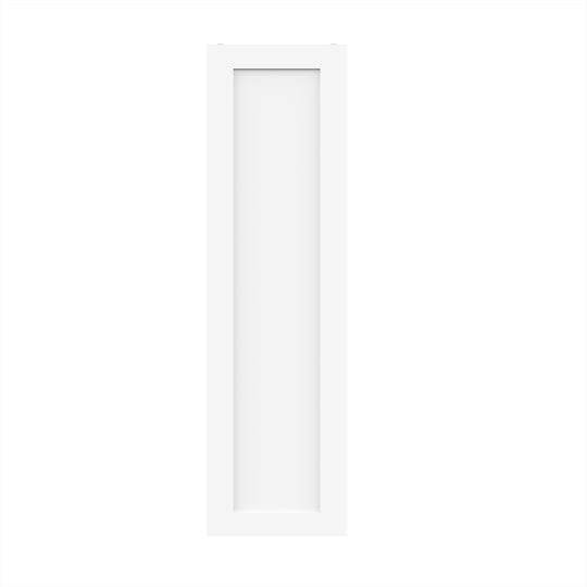 "12"" X 42"" Single Door Wall Cabinet - White Shaker"