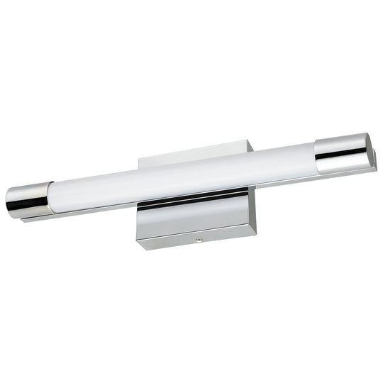 18-Inch LED Linear Vanity Light Fixture, 20 Watts, 1100 Lumens, Dimmable, Chrome Finish