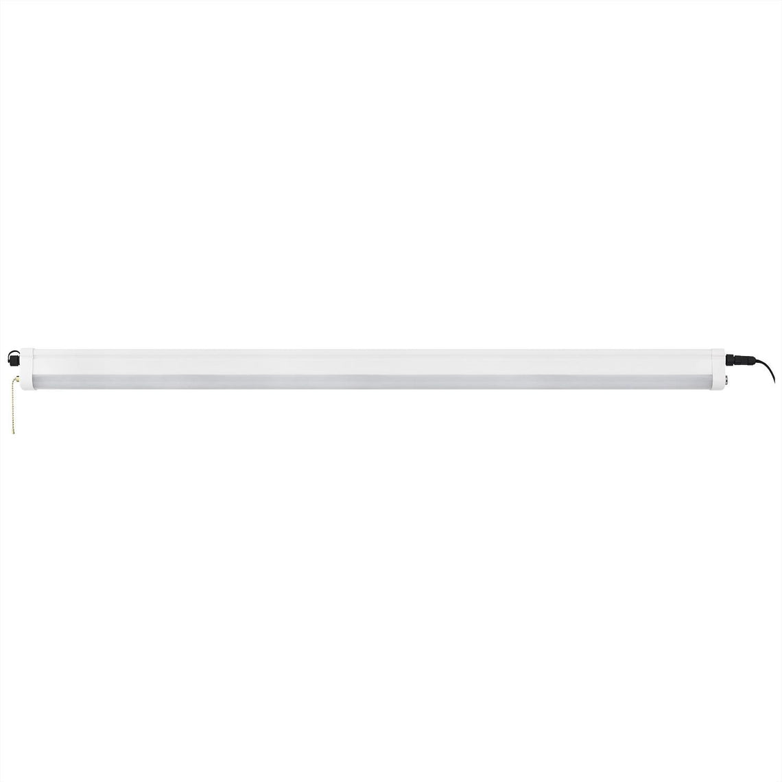40W LED Linear Shop Light - 47.2-Inch - 4000Lm - 4000K - Plug-In - Linkable - ETL Listed - IP65 - White Finish