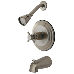 Tub And Shower Trim Only With Solid Brass Construction, Brushed Nickel