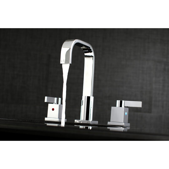 "Meridian 8 "" Widespread Bathroom Faucet In 5.1 "" Spout Reach"