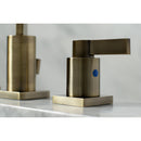 Load image into Gallery viewer, NuvoFusion Widespread Modern Bathroom Faucet