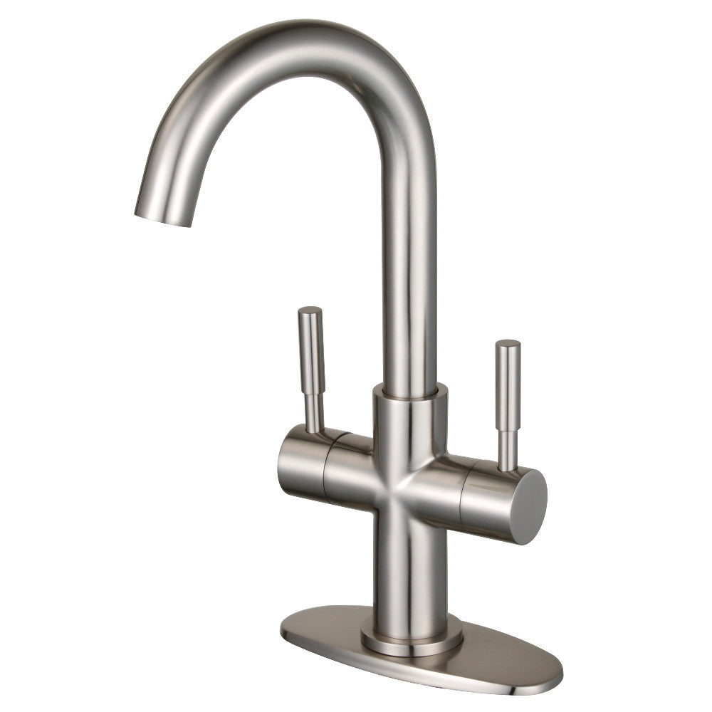 Fauceture Concord Two Handle Bathroom Faucet with Push Pop Up