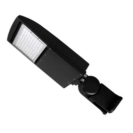 LED Pole Light 150W with Photocell-5700K-Bronze, AC100-277V, Equals to 525W, Yoke Mount-LED Parking Lot Light