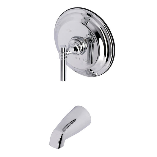 Polished Chrome Tub Trim Only Without Shower