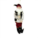"Load image into Gallery viewer, 22"" Enchanted Black and Red Poseable Whimsical Christmas Elf Figure"
