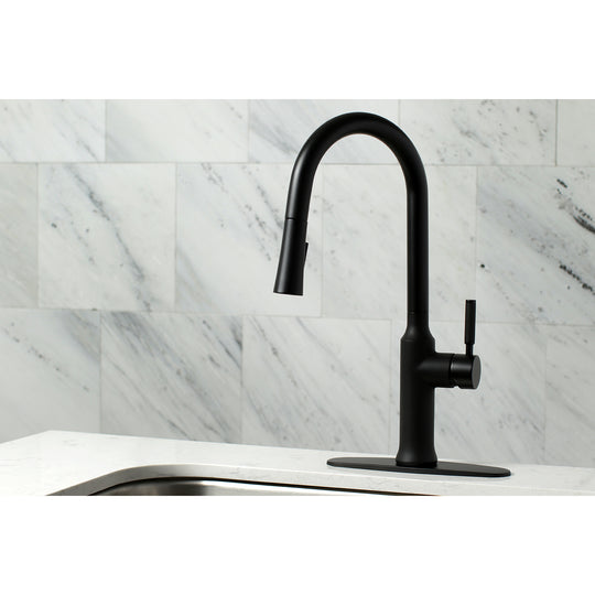 Single-Handle Pull-Down Kitchen Faucet