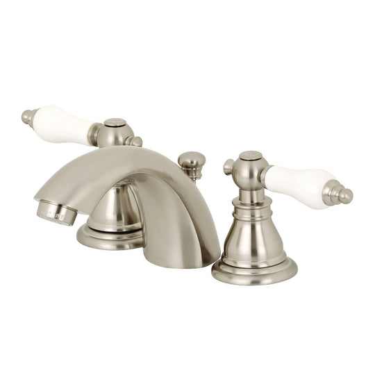 Mini Widespread Bathroom Faucet With Lever Handle
