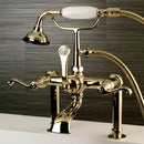 Load image into Gallery viewer, Royale Deck Mount Clawfoot Tub Faucet