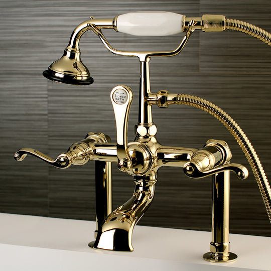 Royale Deck Mount Clawfoot Tub Faucet