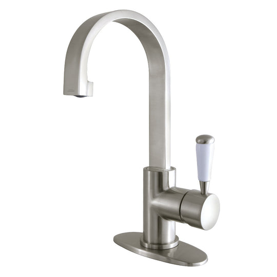 Fauceture Paris Single-Handle Bathroom Faucet With Deck Plate & Drain