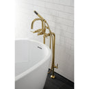Load image into Gallery viewer, Concord Freestanding Tub Faucet With Supply Line, Stop Valve
