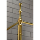 "Load image into Gallery viewer, 28"" x 19"" Edwardian Brass Console Sink Legs"