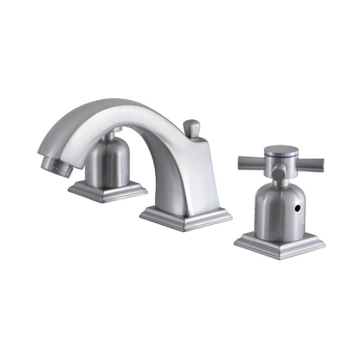 8 inch Widespread Bathroom Faucet, Brushed Nickel Finish