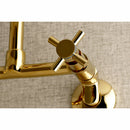 "Load image into Gallery viewer, Concord 8 "" Adjustable Center Wall Mount Kitchen Faucet"
