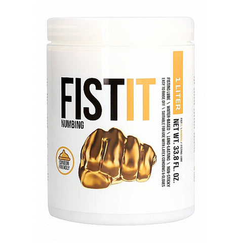 Fist It Numbing 1 Liter Anal Lubricant